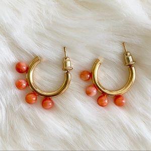 New Anthropologie Tabitha Huggie Hoop Earrings